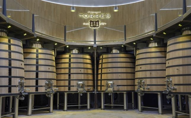 Sala de vinificació Mas La Plana