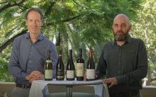 Miquel Torres i Josep Sabarich durant la presentacio dels vins de la gamma 'Antologia'