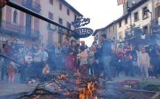 Cuinat de castanyes a la Fira de la Castanya de Viladrau