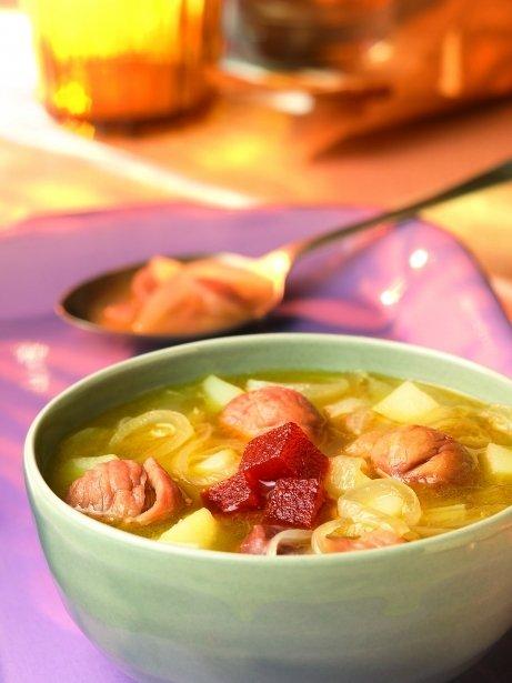 Sopa de castanyes