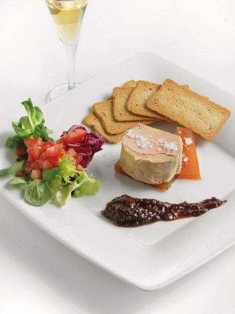 Foie gras semicuit