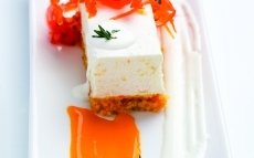 Pellizco de zanahoria y yogur