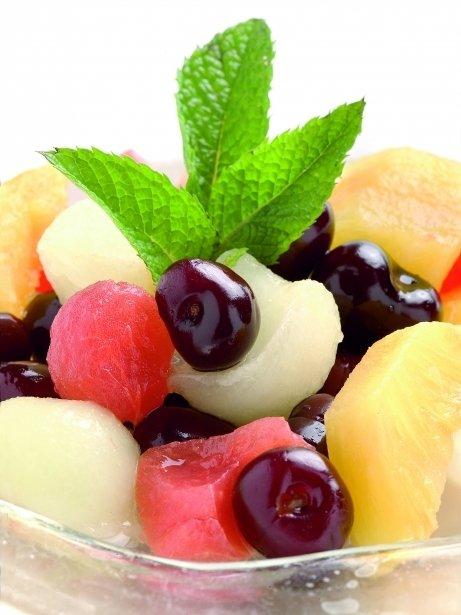 Amanida de fruites amb cava