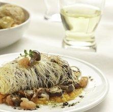 Filet de bou amb pasta kataifi
