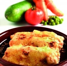 Canelons amb verdures
