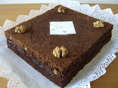 Brownie de xocolata i nous