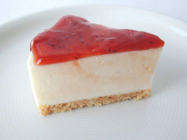 'Cheesecake' de maduixa