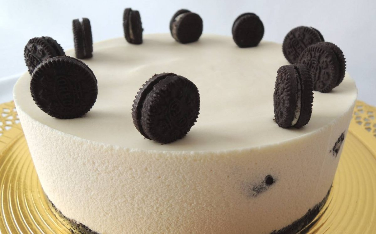 Oreo 'cheesecake'