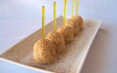 Croquetes d'arròs amb llet