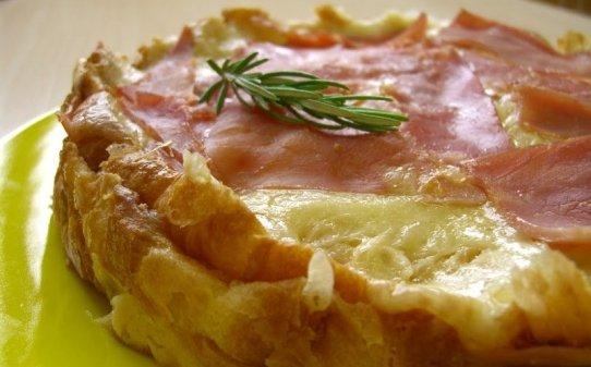 Pastís de croissant