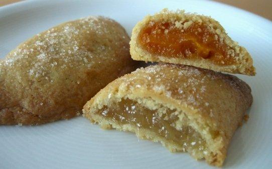 Pastissets de moniato i cabell d'àngel