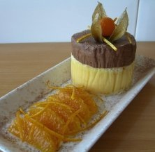 Pastisset taronja i xocolata