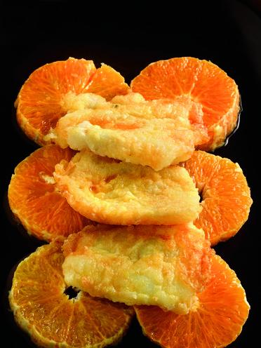 Bacallà amb taronja