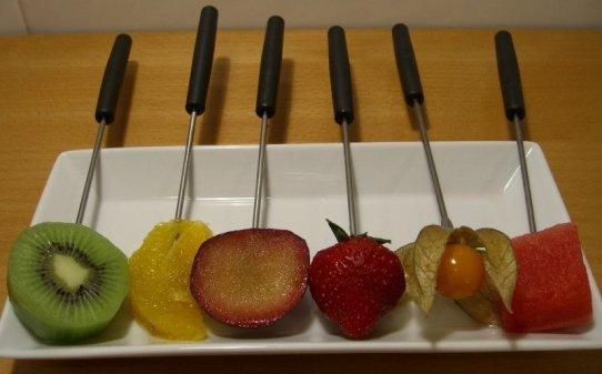 Fruites per a la fondue