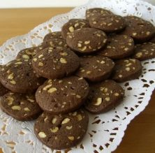 Galetes d'avellana i xocolata