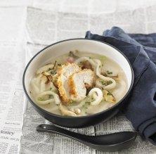 Sopa de pollastre Udon