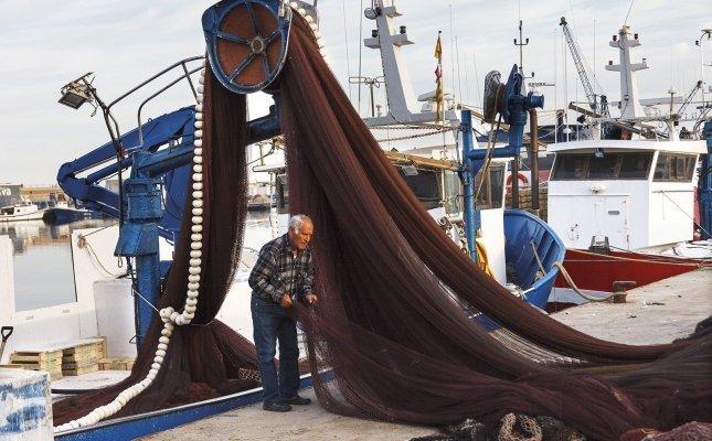 Pescador de Vilanova i la Geltrú