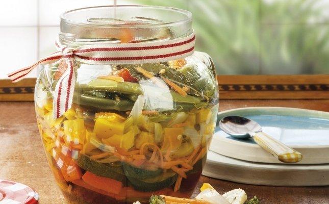 Escabetx de verdures