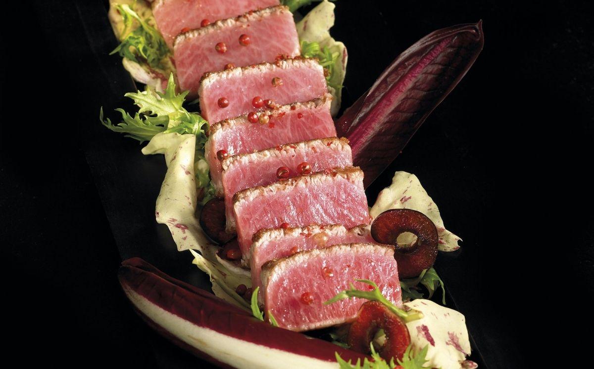 Amanida de ventresca de tonyina