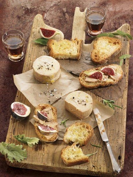 'Foie-gras' semicuit amb figues i torrades