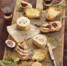 Semicuit de foie amb figues i torrades