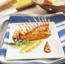 Conill amb salsa i puré de pastanaga / Becky Lawton