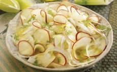 Ensalada de hinojo y manzana