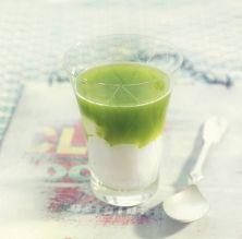 Sopa freda de meló amb iogurt grec