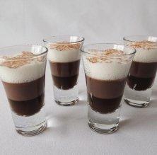 Gotets de vainilla, cafè i cacau