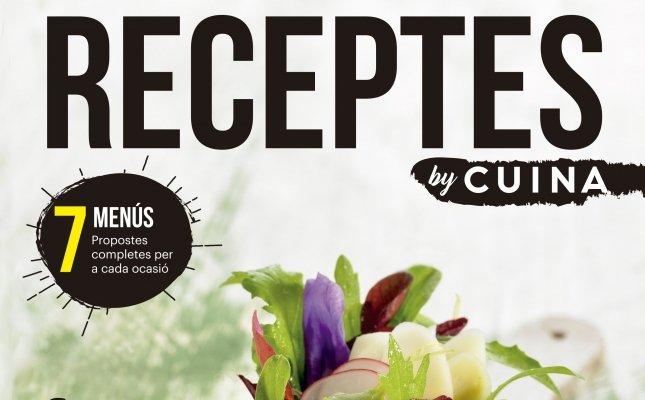 Portada Receptes By Cuina número 1