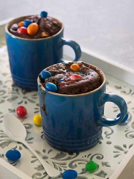 'Mug cake' de M&M's
