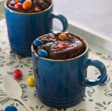 'Mug cake' de M&Me
