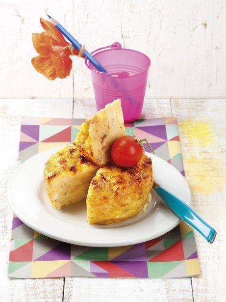 Tortilla de pan con tomate