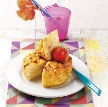 Truita de pa amb tomàquet