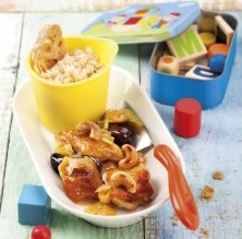 Pollastre amb dàtils i anacards