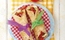 Tacos de guacamole