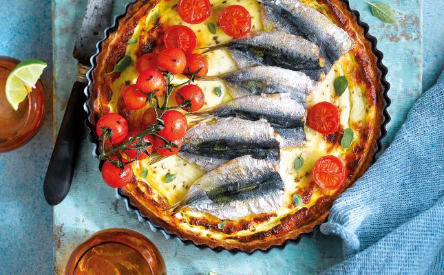 Quiche de sardines