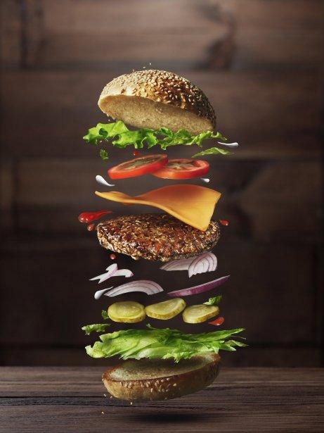 Condiments de l'hamburguesa