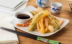 Verdures en tempura amb salsa de soja / Thinkstock