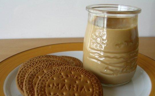Cuajada de galletas María