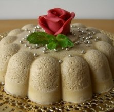 Mousse d'avellana
