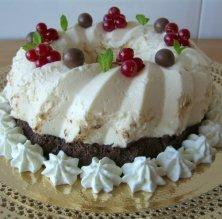 Corona de xocolata i formatge quark