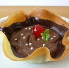 Tulipa de cafè i xocolata