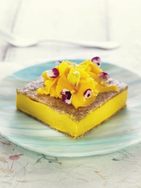 Pastís gelat de mango