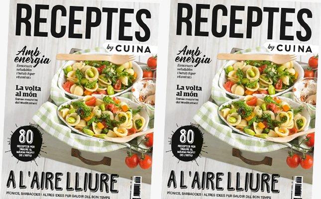 Portada del segon número de la revista 'Receptes by CUINA'
