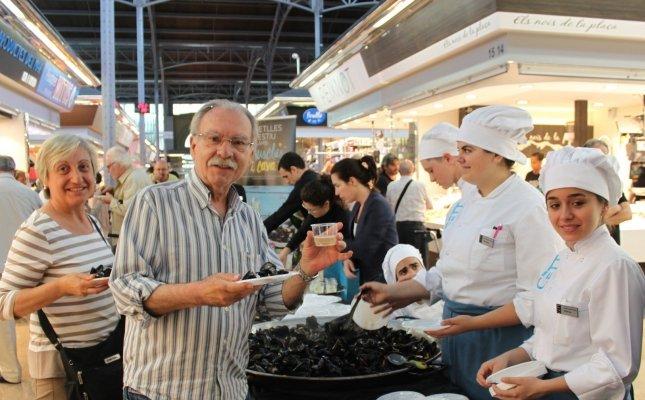 'Revetlles d'estiu amb musclos i cava 2016' al Mercat del Ninot