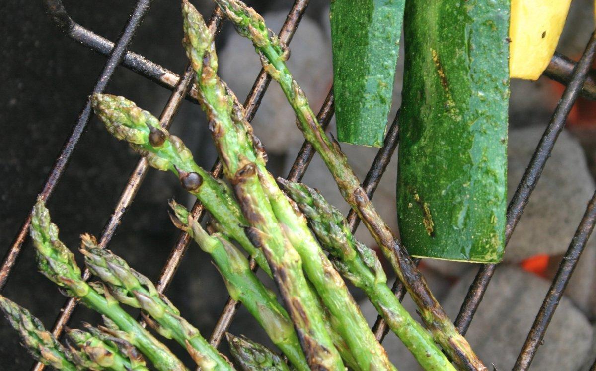 Verdures a la brasa