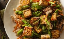 Tofu amb verdures
