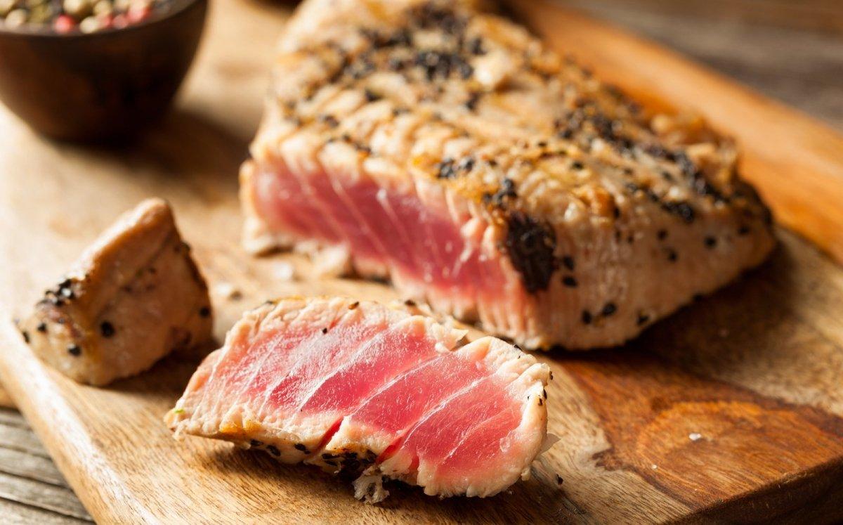 Filet de tonyina a la brasa