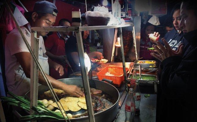 Street food a Ciutat de Mèxic